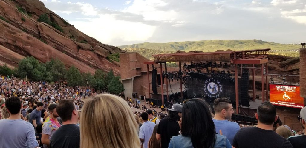 Red Rock Amphitheater Stage