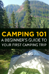 Rock your first camping trip. Check out my guide and get ready to have a great outdoor adventure.