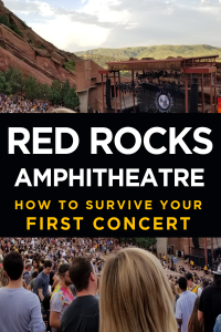 Red Rock Amphitheatre First Concert
