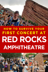 Check out my guide to survive yur first Red Rocks Amphitheatre show.