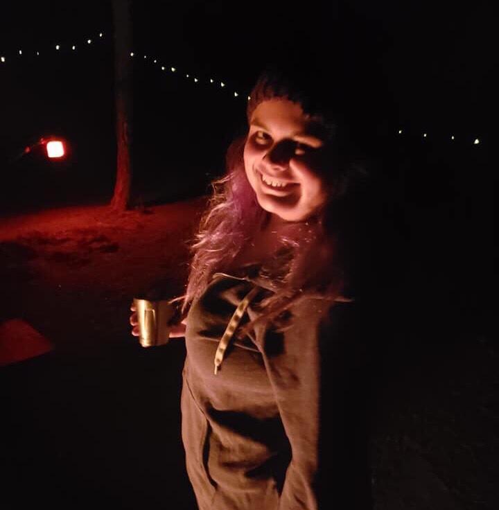 fall camping cold