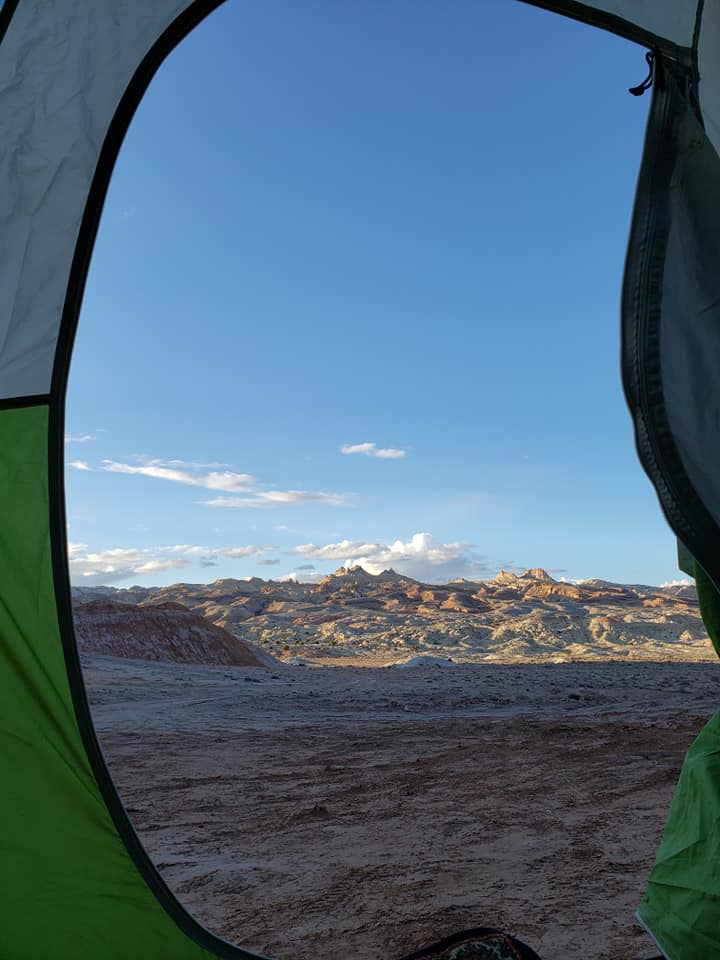 alternative locations for off-season camping