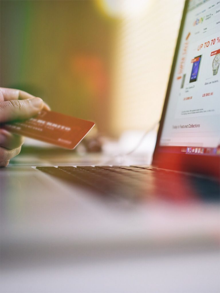 Buying things online
